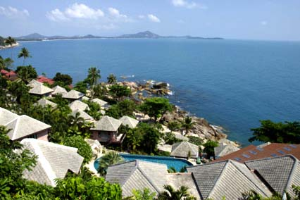 Lookout Point, Chaweng Beach, Gulf of Thailand, Island of Ko Samui, Thailand