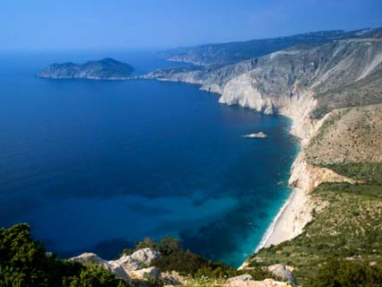 Coastline View, Assos, Kefalonia, Ionian Islands, Greece
