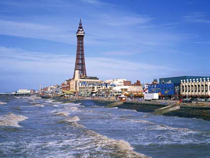 Blackpool Tower, Blackpool, Lancashire, England, United Kingdom, Europe