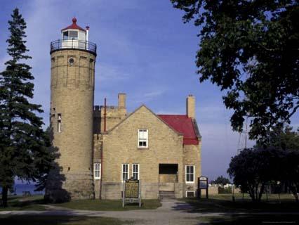 Old Mackinac Point Lighthouse, Michigan, USA