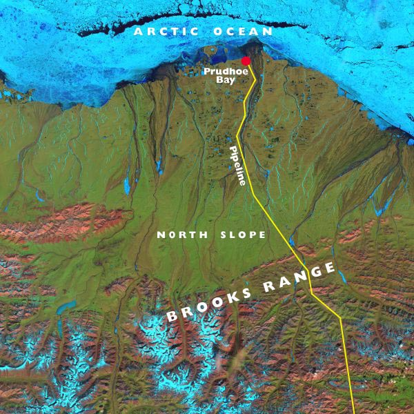Map of the North Slope of Alaska Picture and Details Satellite Map Of Alaska on topographic map of alaska, airports of alaska, aerial view of alaska, radar weather map alaska, industrial map of alaska, landsat map of alaska, satellite maps of japan, village of alaska, sports map of alaska, full map of alaska, large map alaska, storms gulf of alaska, water map of alaska, military map of alaska, hd map of alaska, seismic map of alaska, road map of alaska, driving map of alaska, satellite view of nome alaska, us detailed maps of alaska,