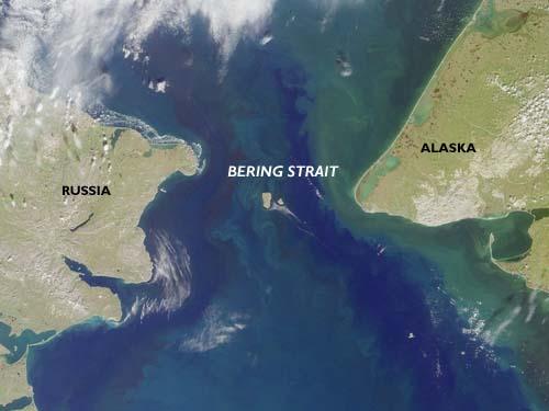 Photo of the Bering Strait - Bering Strait Photo, World ...