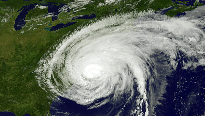 Hurricane Irene from Satelite
