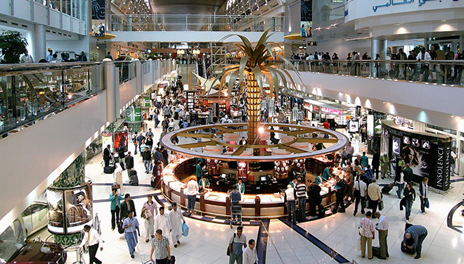 Shopping at DXB