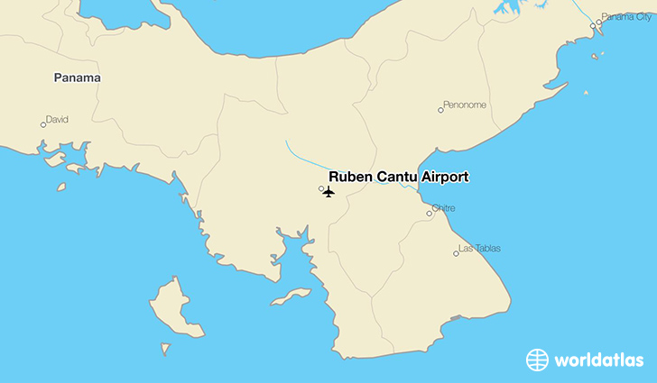 Ruben Cantu Airport location on a map