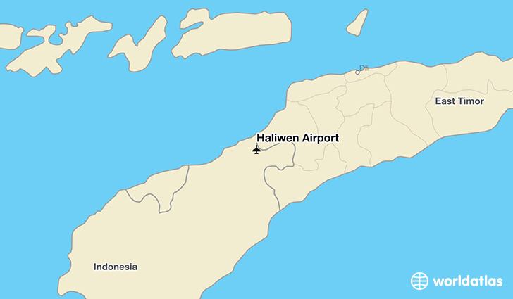 Haliwen Airport location on a map
