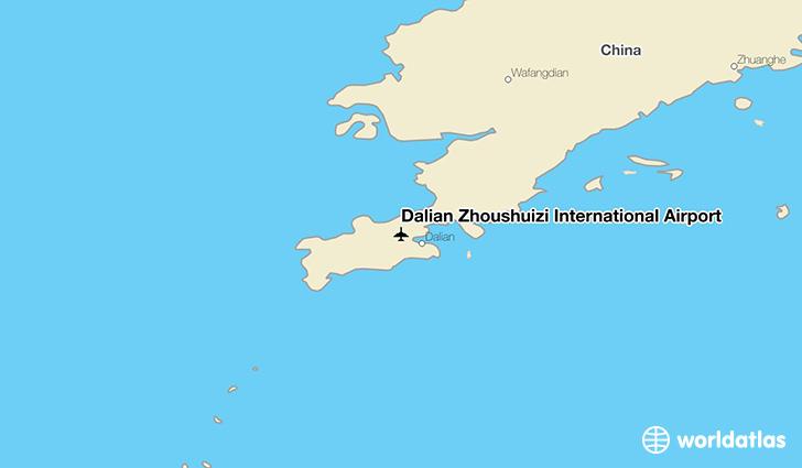 Dalian Zhoushuizi International Airport (DLC) - WorldAtlas on