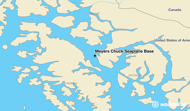Meyers Chuck Seaplane Base location on a map