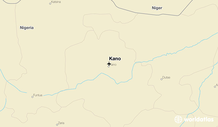 Kano location on a map