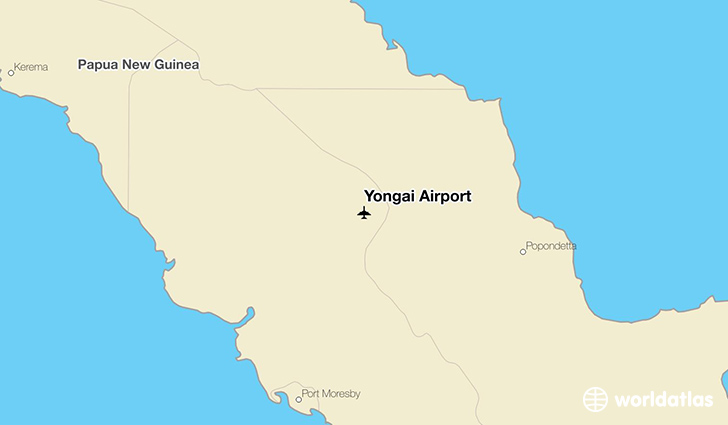Yongai Airport location on a map