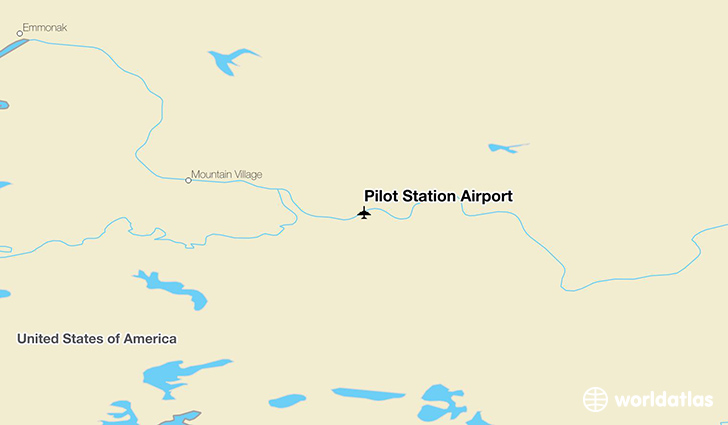 Pilot Station Airport (PQS)  WorldAtlas