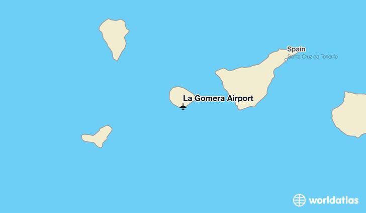 La Gomera Airport GMZ WorldAtlas
