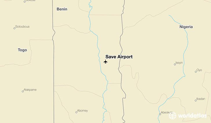 Save Airport location on a map