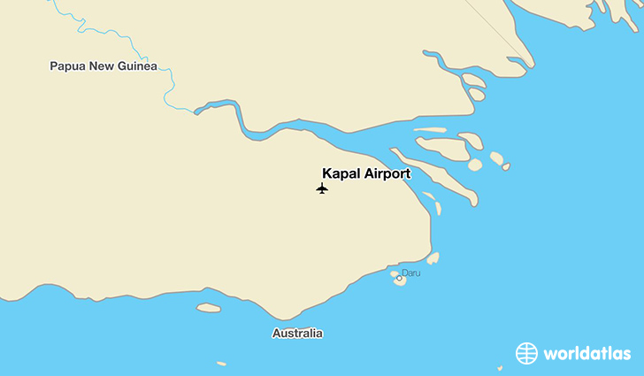 Kapal Airport location on a map