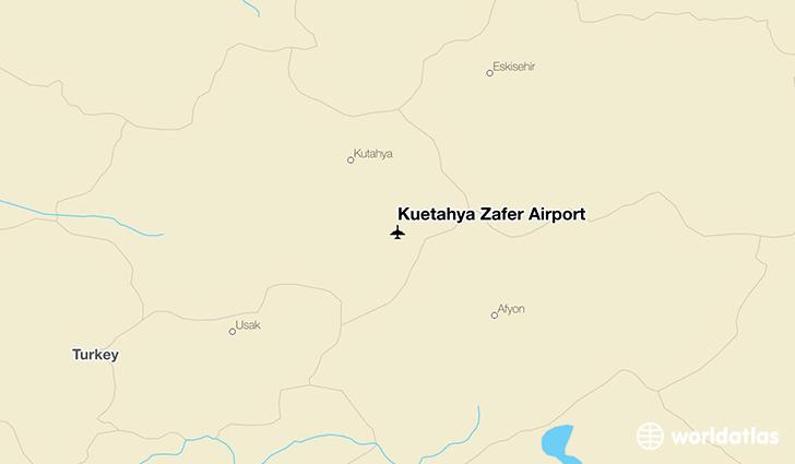 Ktahya Zafer Airport KZR WorldAtlas