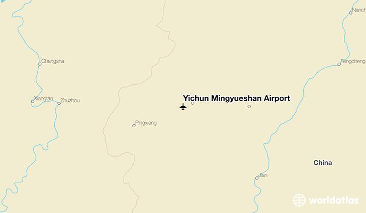 Yichun Mingyueshan Airport  Yic