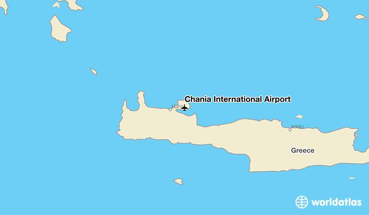 Chania International Airport CHQ WorldAtlas