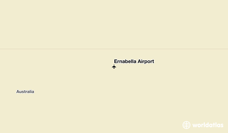 Ernabella Airport location on a map