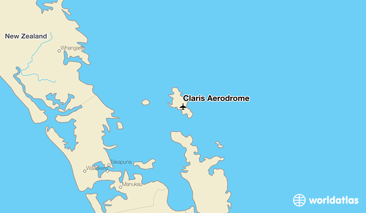 Claris Aerodrome location on a map