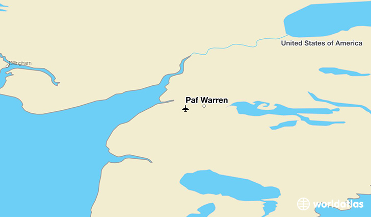 Paf Warren location on a map