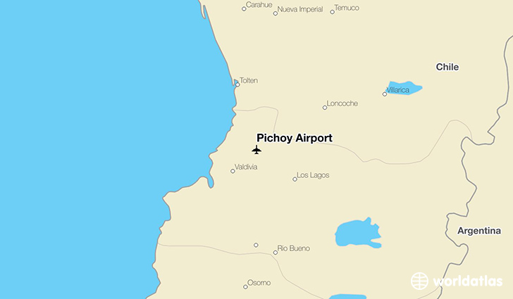 Pichoy Airport location on a map