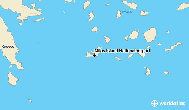 Milos Island National Airport MLO WorldAtlas