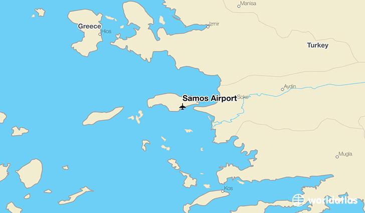Samos Airport SMI WorldAtlas