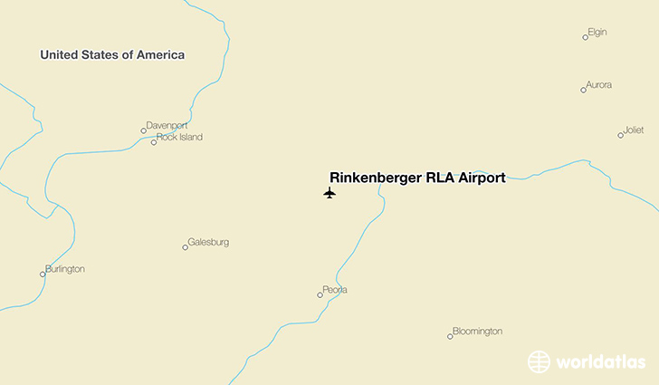 Rinkenberger RLA Airport location on a map