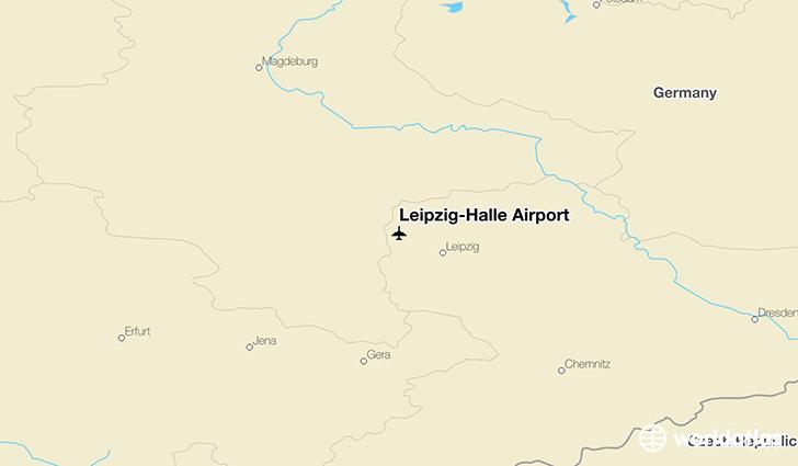 LeipzigHalle Airport LEJ WorldAtlas