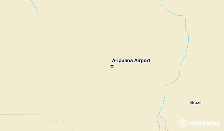 Aripuanã Airport location on a map