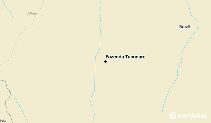 Fazenda Tucunare location on a map