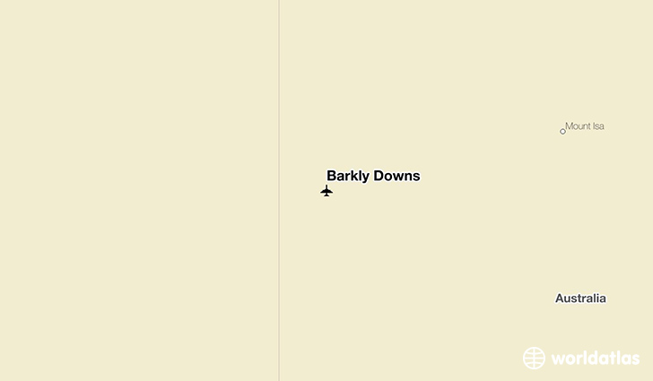 Barkly Downs location on a map