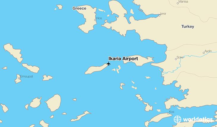 Ikaria Airport JIK WorldAtlas