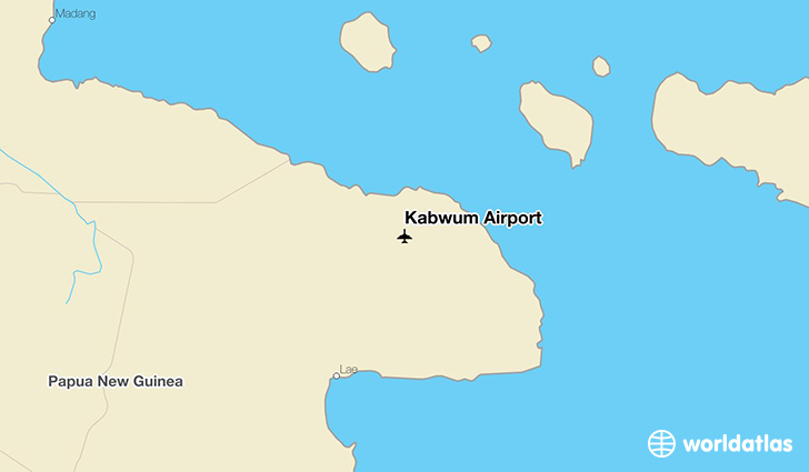 Kabwum Airport location on a map