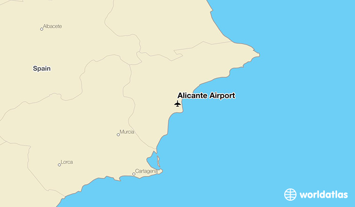 Alicante Airport ALC WorldAtlas