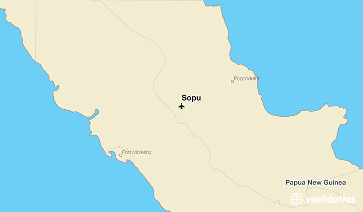 Sopu location on a map