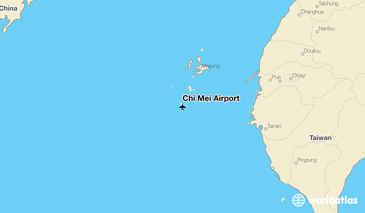Chi Mei Airport location on a map