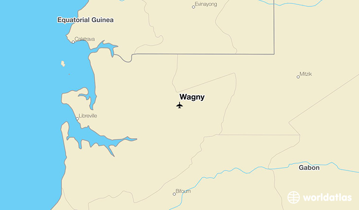 Wagny location on a map