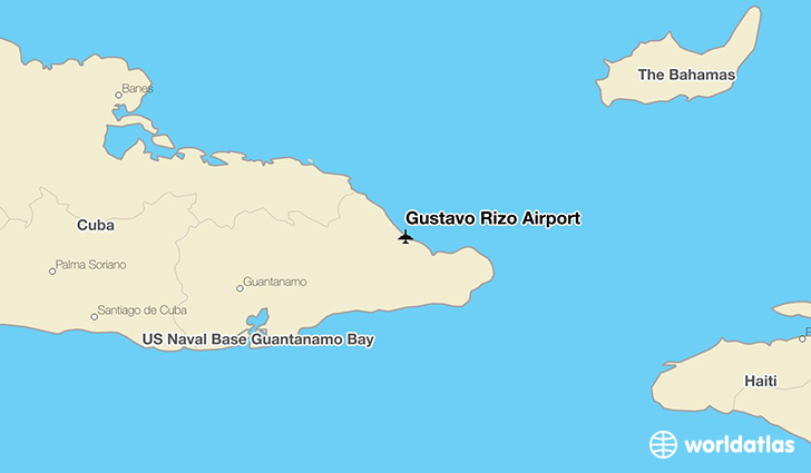 Gustavo Rizo Airport location on a map