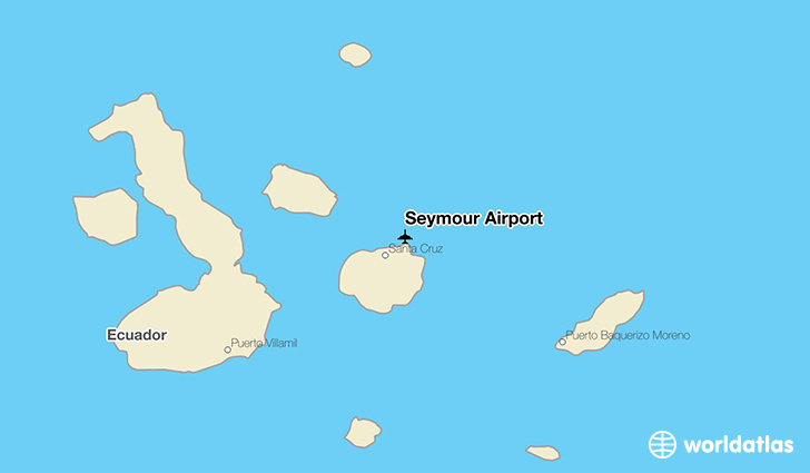 Seymour Airport location on a map