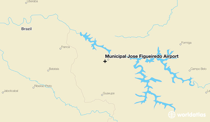 Municipal José Figueiredo Airport location on a map
