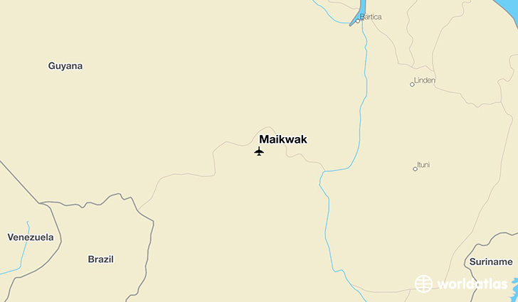 Maikwak location on a map