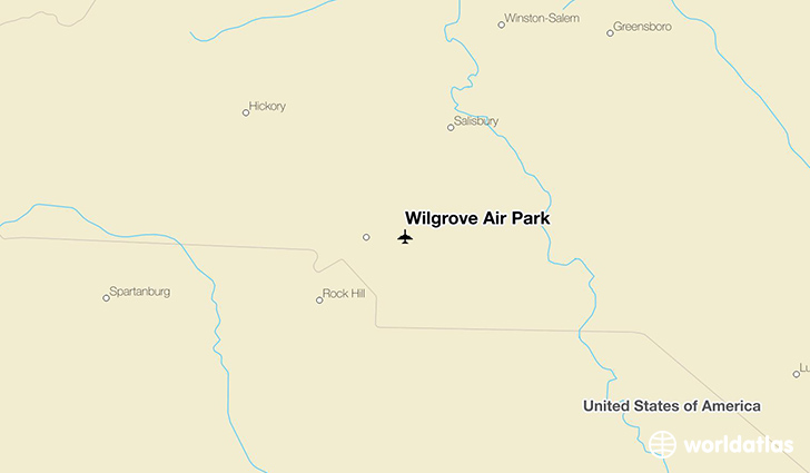 Wilgrove Air Park location on a map