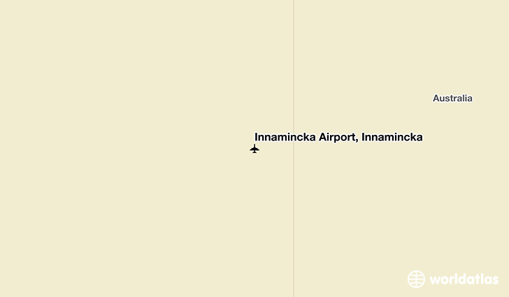 Innamincka Airport, Innamincka location on a map
