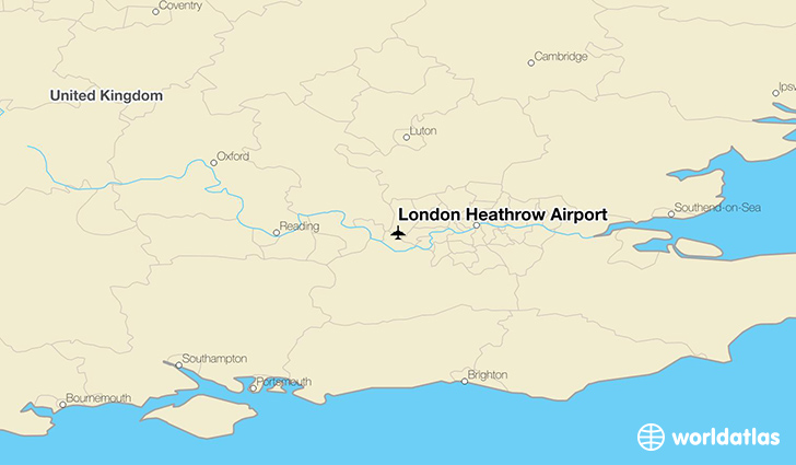 London Heathrow Airport Lhr Worldatlas