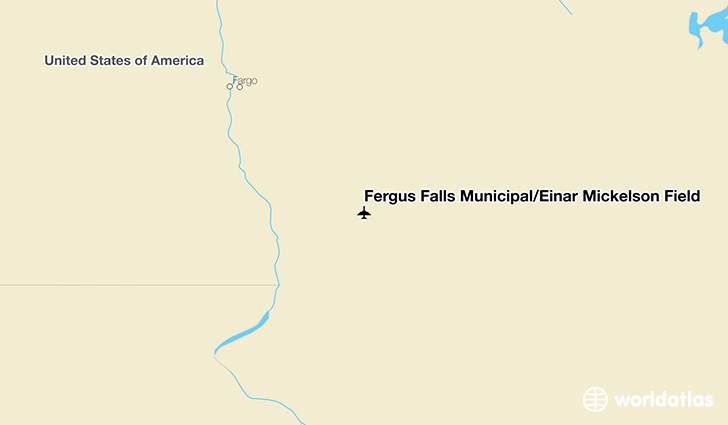 Fergus Falls Municipal/Einar Mickelson Field location on a map