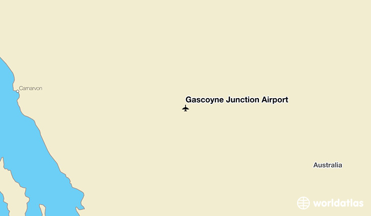 Gascoyne Junction Airport location on a map