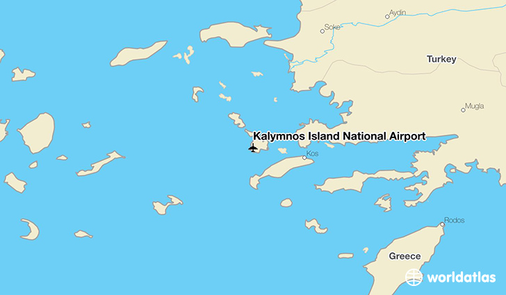 Kalymnos Island National Airport JKL WorldAtlas