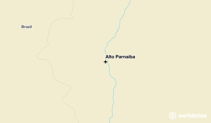 Alto Parnaiba location on a map