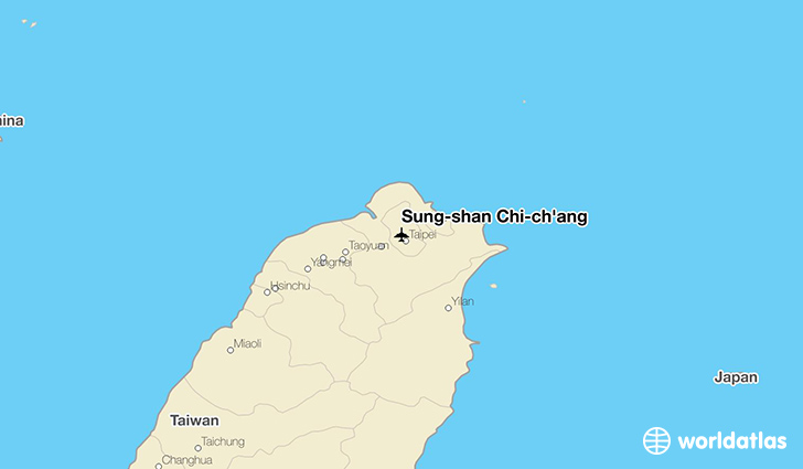 Sung-shan Chi-ch'ang location on a map